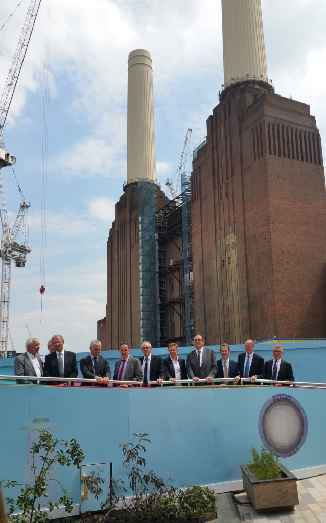 Construction Leadership Council Members Visit the Battersea Power Station Development